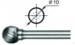 Борфреза сферическая D Ø10 мм.