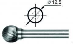 Борфреза сферическая D Ø12,5 мм.