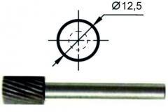Борфреза цилиндрическая А Ø12,5 мм., нормальной точности