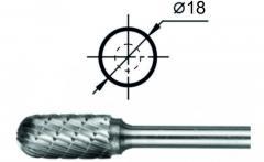 Борфреза сфероцилиндрическая С Ø18 мм.