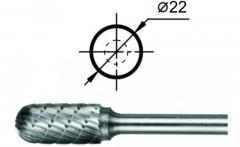 Борфрезы Cфероцилиндрические (С), повышенной точности