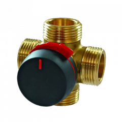 4-ходовый поворот смесительный клапан VRG141; Rp 1/2; 15 DN; 2.5 Kvs 11640100