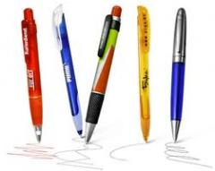Pens with corporate logo