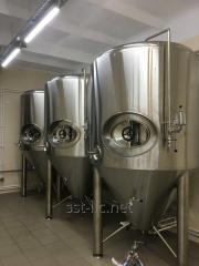 Capacity for fermentation of TsKT beer on 2 000 l