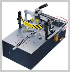 The machine for fastening of corners of frames of