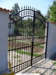 Металлические ворота, заборы и калитки, ворота