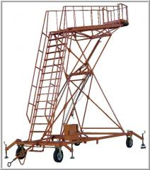 Step-ladder hydraulic STG-8000