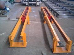 Pusher (pusher) hydraulic trolleys