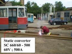 Ru Static transformer / En Static converter