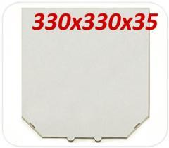 Коробка под пиццу, 33 (32) см, белая