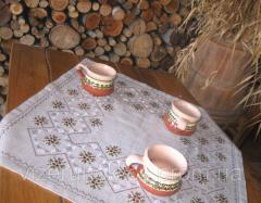 Embroidered tablecloth coffee table Coffee