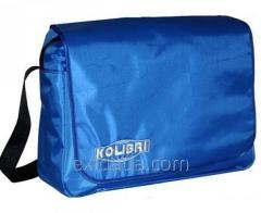 Сумка туристическая Kolibri 35x26x12, ярко-синий