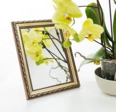 Зеркало в багете,  3422-3 -10*15