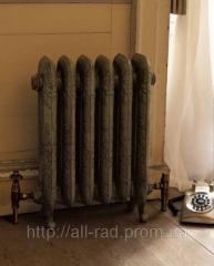 Радиатор чугунный ретро грунтованный Carron (Англия)