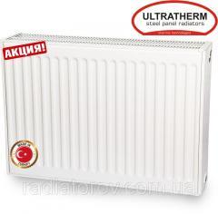 Стальные радиаторы Ultratherm 22 тип 500/400 нижнее/боковое подключение (Турция)