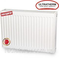 Стальные радиаторы Ultratherm 22 тип 500/1200 нижнее/боковое подключение, Турция