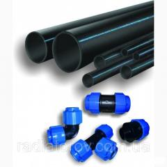 Трубы полиэтиленовые ø20 PN10 SDR 11 для водоснабжения