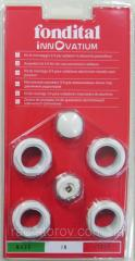 Электрический полотенцесушитель Adax 540/400 белый/хром (Норвегия)