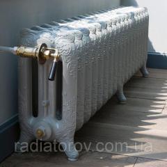 Чугунные радиаторы расписные декоративные...