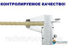 Композитная стеклопластиковая арматура Polyarm 8 mm. Для фундамента