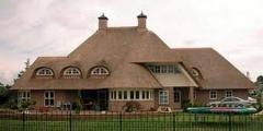 Экологически чистая крыша из камыша