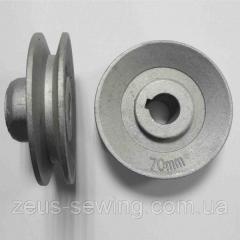 Шкив диаметр 70 мм