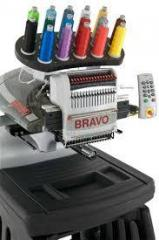 Одноголовочная 16-ти игольная вышивальная машина Melco Bravo