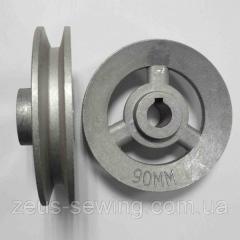 Шкив диаметр 80 мм