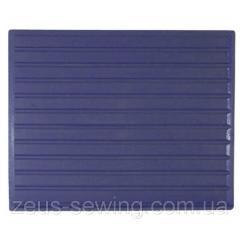 Голубой силиконовый коврик под утюг ROTONDI SIR