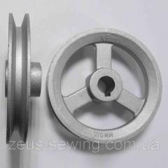 Шкив диаметр 100 мм
