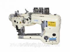 Автоматическая четырёхигольная шестиниточная промышленная швейная машина Juck JK-62G-02D