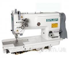 Высокоскоростная прямострочная универсальная двухигольная швейная машина Siruba T828-72-064HL