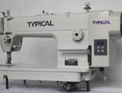 Высокоскоростная одноигольная машина челночного стежка со встроенным сервоприводом Typical GC6150HD