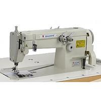 Беспосадочная двухигольная промышленная швейная машина SHUNFA SFf 8452