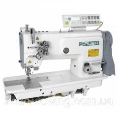 Двухигольная промышленная швейная машинас отключением игл SIRUBA T828-45-064M/C