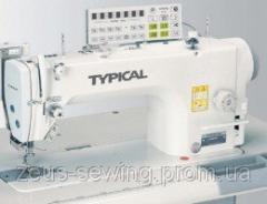 Высокоскоростная 1-игольная машина челночного стежка с прямым сервоприводом Typical GC6730A-HD3