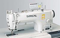 Автоматизированная высокоскоростная одноигольная швейная машина челночного стежка Typical GC6760НD3Х