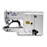 Промышленная автоматическая закрепочная машина челночного стежка VELLES VBT1850D
