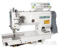 Двухигольная прямострочная машина для выполнения кармана Siruba T828-42-127KL/C