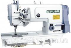 Двухигольная промышленная швейная машинас отключением игл Siruba T828-75-032H