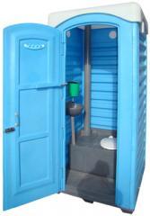 Обслуживание мобильной туалетной кабины по...