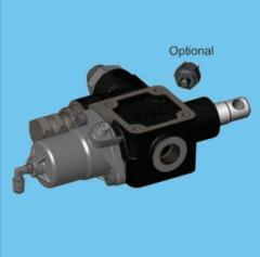 Перекидной клапан Hyva 150л пневматический cable