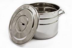 Casserole stainless steel 20 l