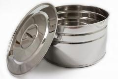 Бак из нержавеющей пищевой стали для кухни 40л