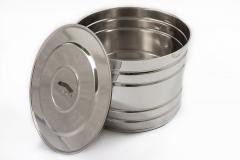 Баки из нержавеющей стали для кухни 50л