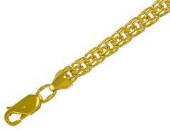 Золотой браслет Бисмарк 585 пробы, артикул