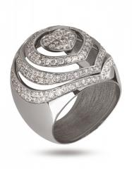 The Golden Ring the 585th tests with diamonds, the