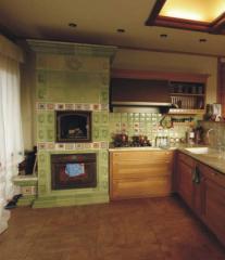 Кафель для кухни расписной