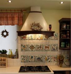 Кафель расписной для кухни