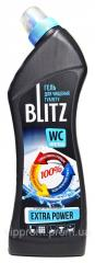 """Gel for cleaning toilets """"BLITZ Extra Power"""" 750ml, 12pcs \ crate"""